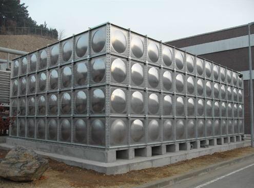 bồn nước inox lắp ghép công nghiệp