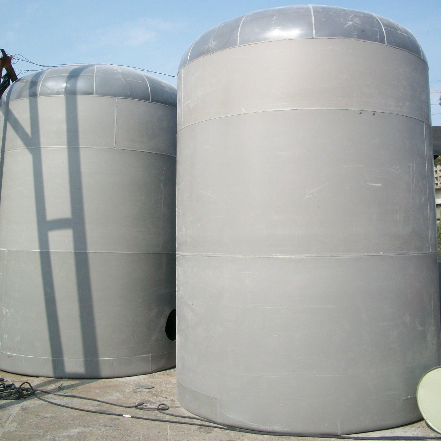 bồn nước thải composite đứng