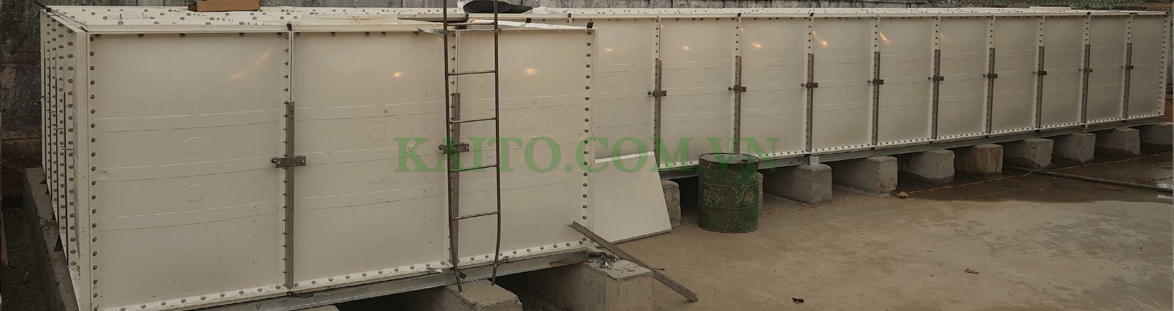 bồn composite lắp ghép chứa nước