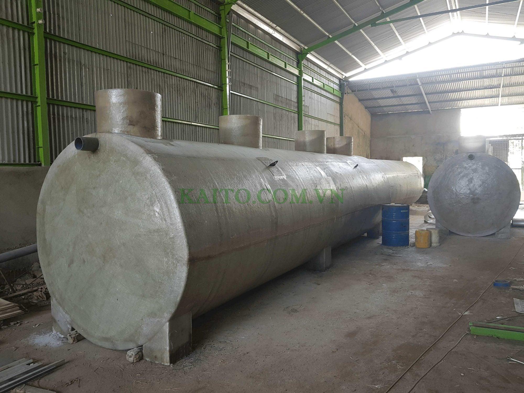 bồn composite chauws nước thải chất lượng cao