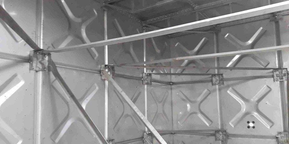 cấu tạo bồn nước lắp ghép inox