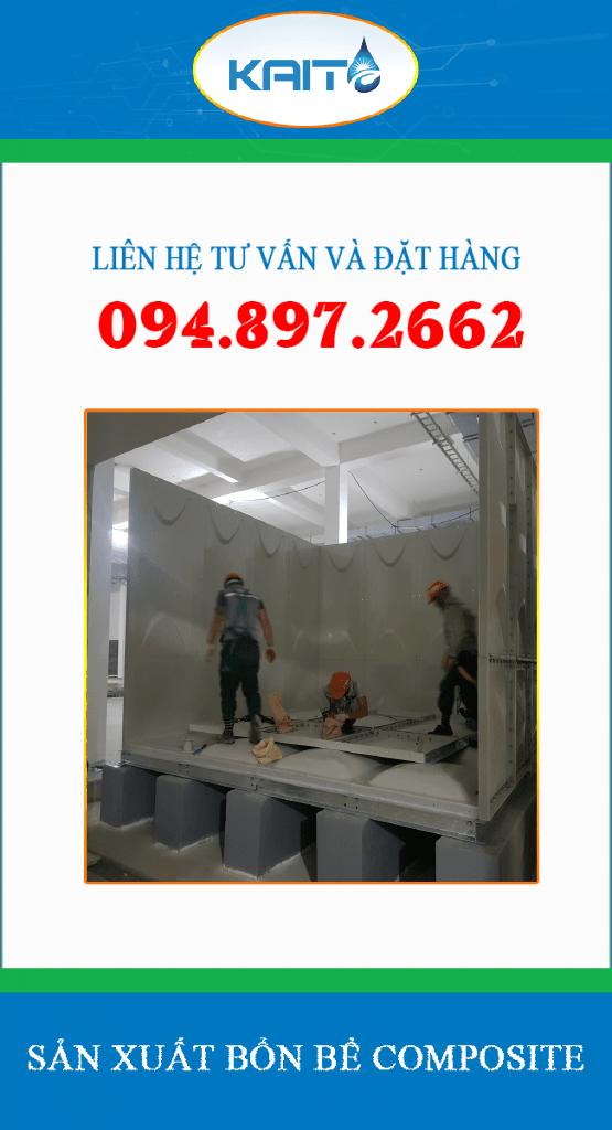 bồn bể composite lắp ghép hà nội