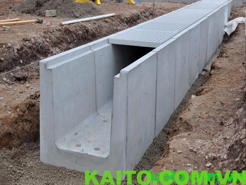 rãnh nước hố ga composite