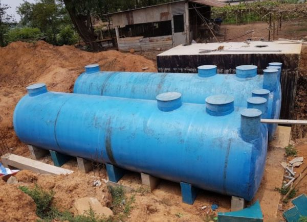 bồn composite nước thải tại bình dương